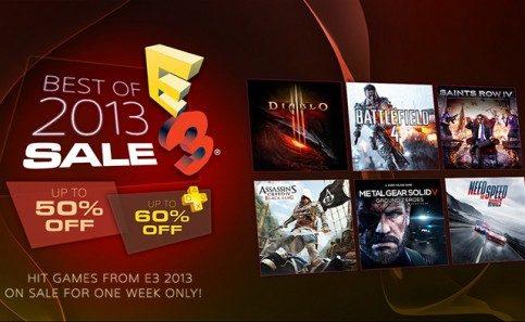 Promoção Best of E3 2013: 20 jogos em oferta a partir de agora