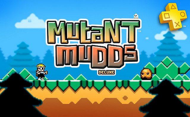 Mutant Mudds Deluxe de graça para membros da PS Plus