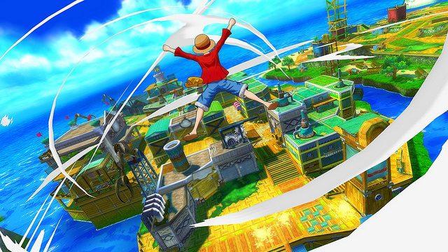 One Piece Unlimited World Red está disponível para PS Vita