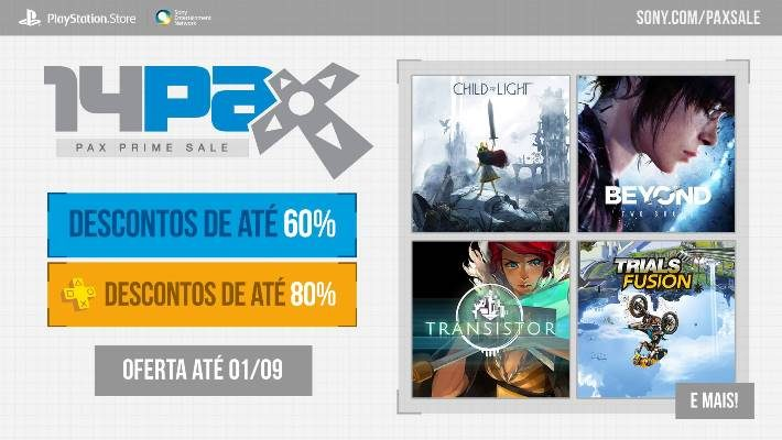 2014 PAX Prime Sale: adquira jogos mostrados na PAX do ano passado