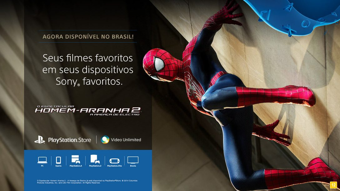 Filmes chegam à PlayStation Store brasileira