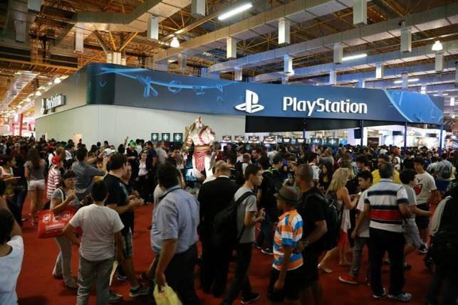 Veja o que todo mundo está jogando no estande #PlayStationBGS