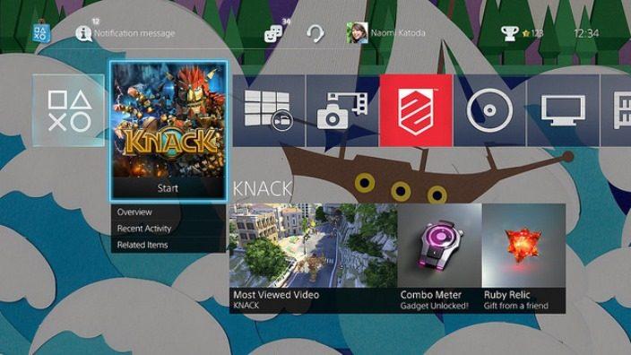 Prévia do Software 2.00 do PS4: Música USB, tela home colorida e mais