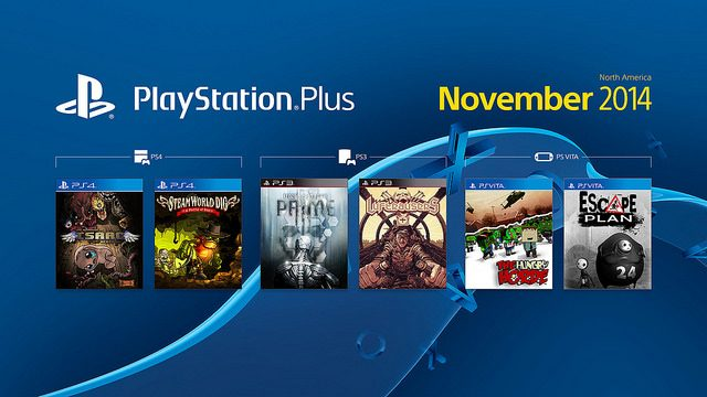 Lista dos jogos gratuitos da PS Plus em novembro
