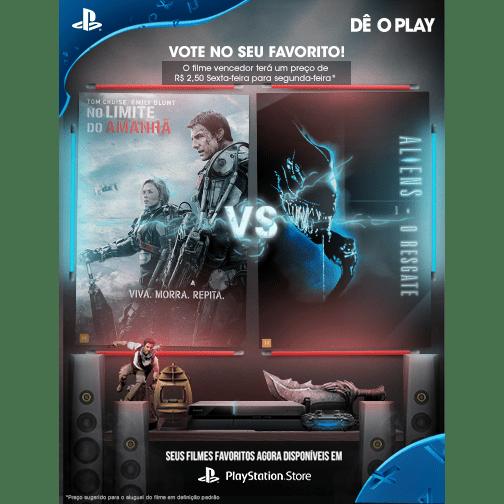 Vote No Seu Favorito: Viva, Morra, Repita: No Limite do Amanhã vs. Aliens – O Resgate