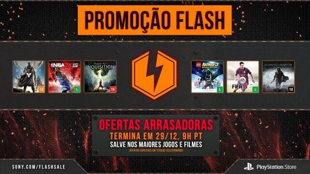 Flash Sale: descontos de fim de ano em mais de 30 jogos