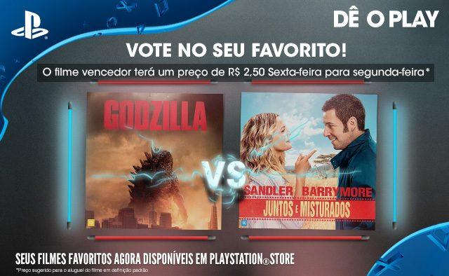 Vote No Seu Favorito: Godzilla vs. Juntos e Misturados