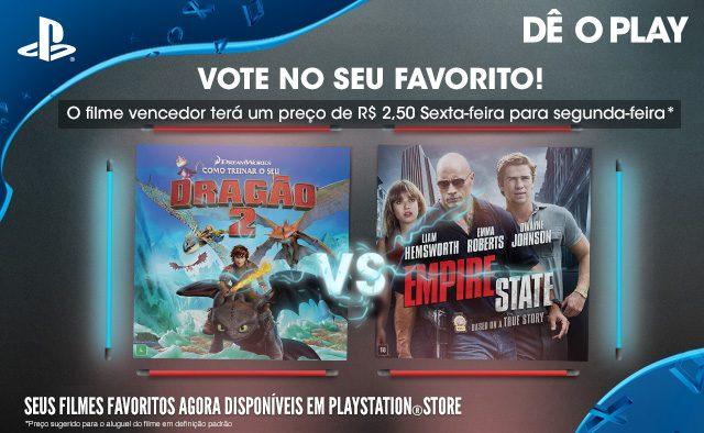 Vote no seu favorito: Como Treinar o Seu Dragão 2 vs. Empire State