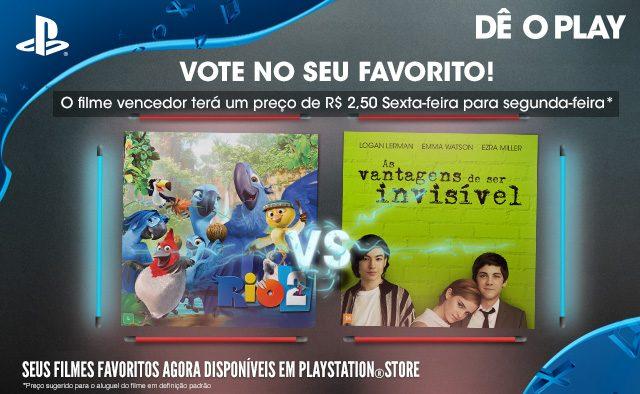 Vote No Seu Favorito: Rio 2 vs. As Vantagens de Ser Invisível