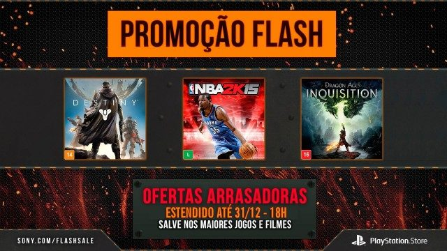 Flash Sale e Oferta de Natal da PS Store foram estendidas
