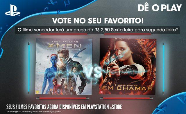 Vote No Seu Favorito: X-Men: Dias de Um Futuro Esquecido vs. Jogos Vorazes: Em Chamas