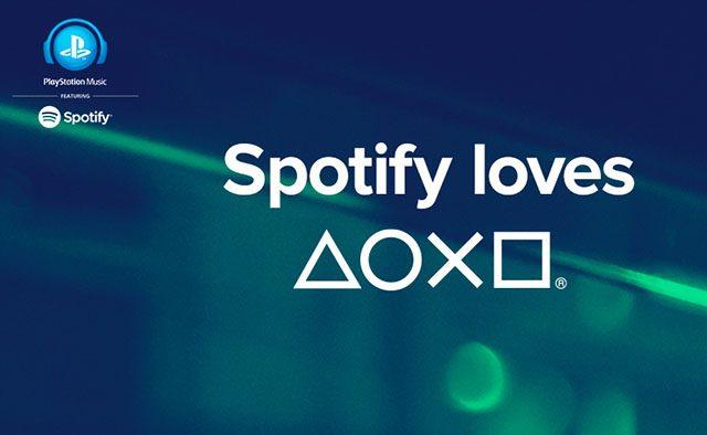 PlayStation, Conheça o Spotify
