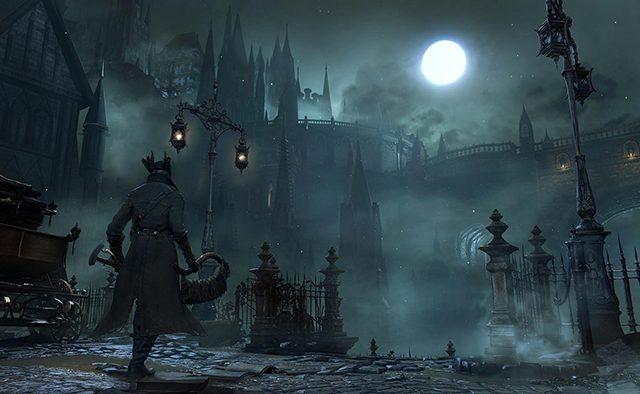 Evento de lançamento do Bloodborne
