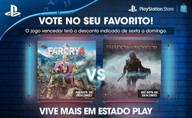 Far Cry 4 vs. Terra Média: Sombras de Mordor