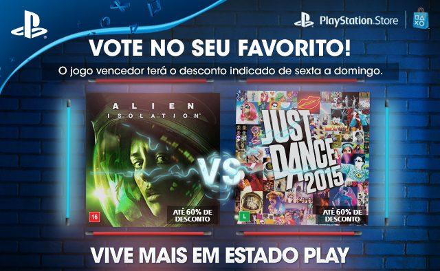 Vote em seu Favorito: Alien: Isolation o Just Dance 2015