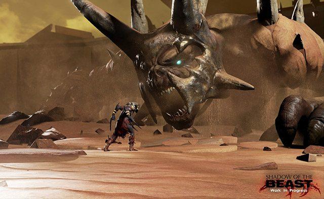 Shadow of the Beast no PS4: Beleza e Brutalidade