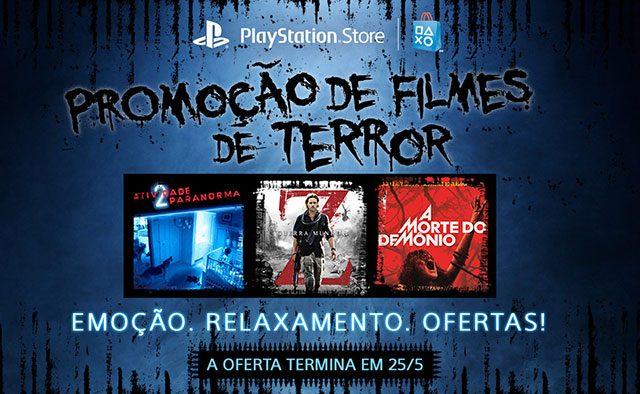 Promoção de Filmes de Terror
