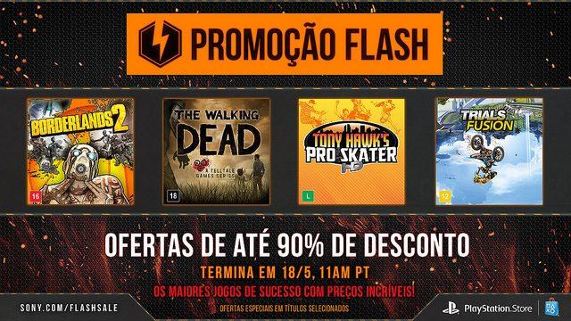 Promoção Flash de Maio: Ofertas de Até 90% de Desconto