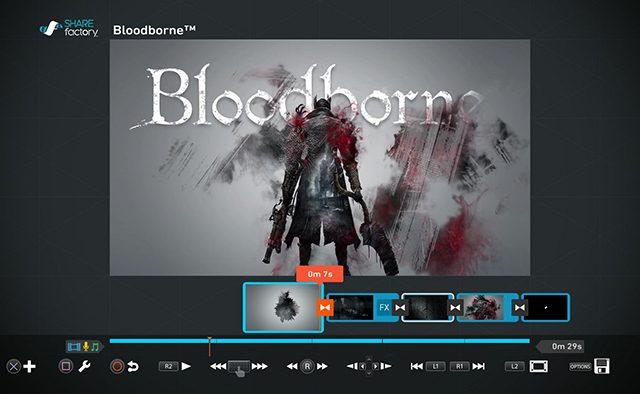 Bloodborne: Novo Tema SHAREfactory e Notas do Patch 1.04