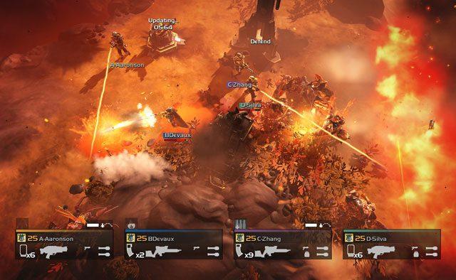 HELLDIVERS aumenta a temperatura hoje no PS4, PS3 e PS Vita: Mais planetas vulcânicos, novos inimigos e objetivos
