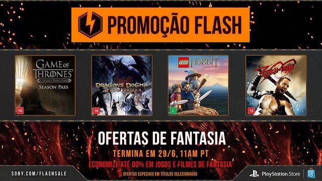 Promoção Flash: Ofertas de Fantasia