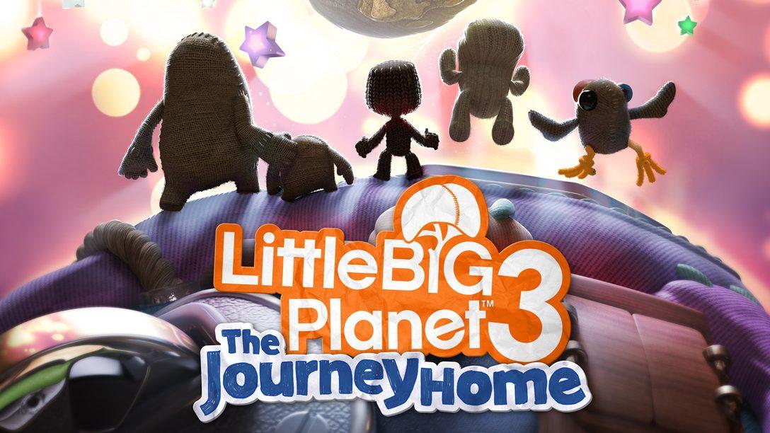 LittleBigPlanet 3: The Journey Home Chega no Próximo Mês