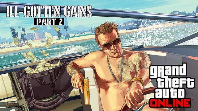 Grand Theft Auto Online: Ill-Gotten Gains Part 2 Chega Hoje