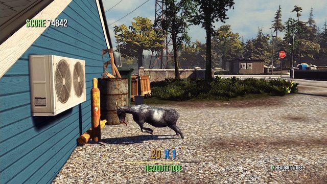 Goat Simulator Chega ao PS4 e PS3 em 11 de Agosto