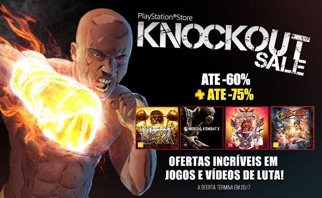 Knockout Sale: Descontos em Jogos e Filmes de Luta