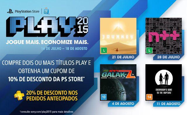 PS Store PLAY 2015: Quatro Novos Jogos na Pré-Venda