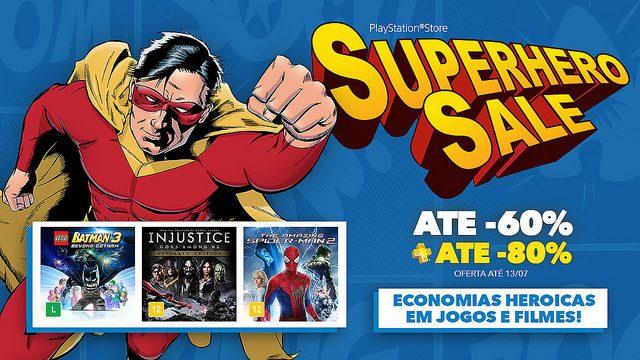 Superhero Sale: Ofertas em Jogos e Filmes Superpoderosos