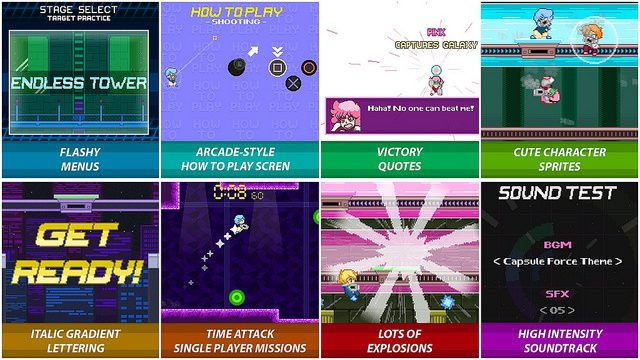 Capsule Force Chega ao PS4 em 25 de Agosto