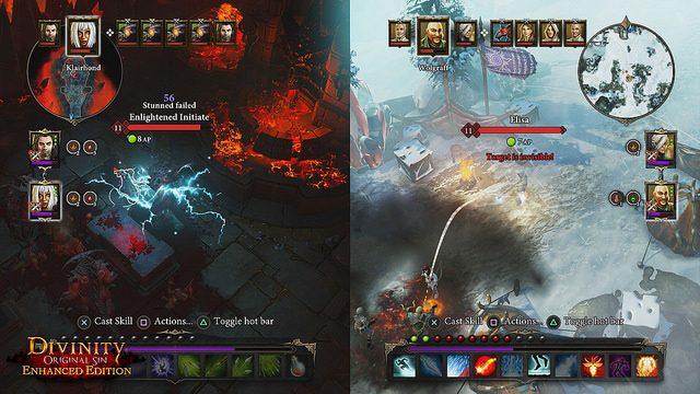 Divinity Original Sin Enhanced Edition: RPG de Ação com Co-op Local no PS4