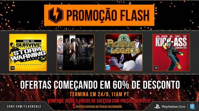 Promoção Flash: Ofertas Começando em 60% de Desconto