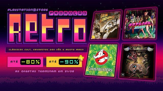 Promoção Retrô: Jogos e Filmes Nostálgicos Bem a Tempo da PAX