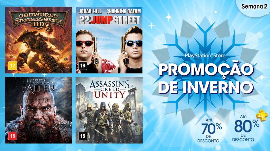 Promoção de Inverno da PlayStation Store Semana 2: Assassin's Creed Unity, Lords of the Fallen & Mais