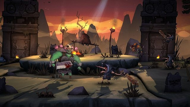 Vote Zombie Vikings no PlayStation Vote to Play
