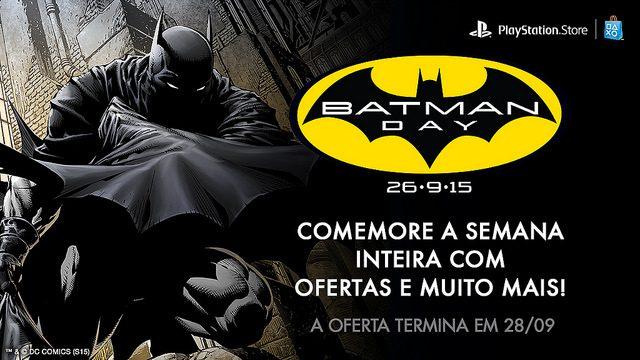 Uma Semana de Ofertas para Comemorar o Batman Day