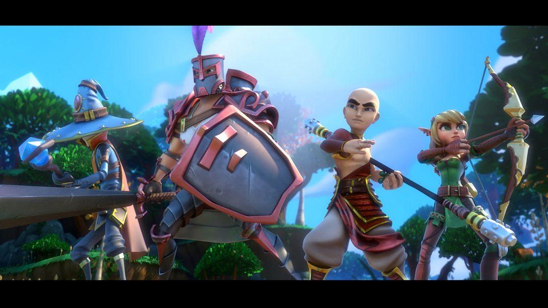 Dungeon Defenders II Chega ao PS4 em 29 de Setembro