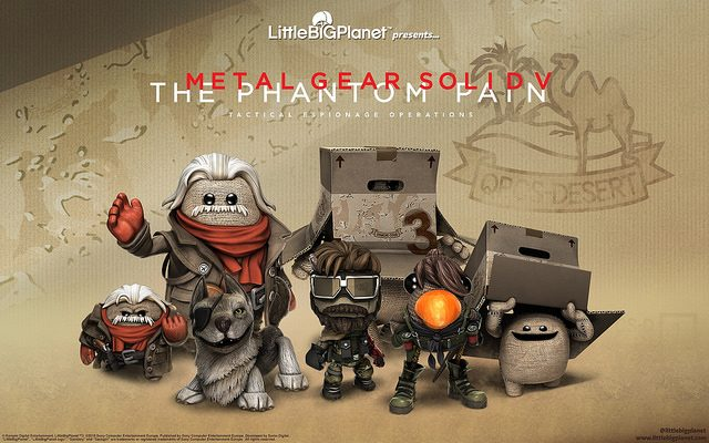 LittleBigPlanet 3: DLC de Metal Gear Solid V Chega Hoje