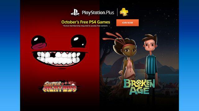 PS Plus: Jogos Grátis para Outubro de 2015