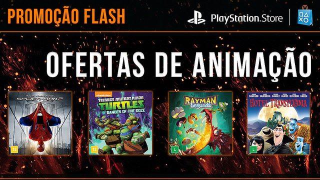 Promoção Flash Agora: Ofertas de Animação
