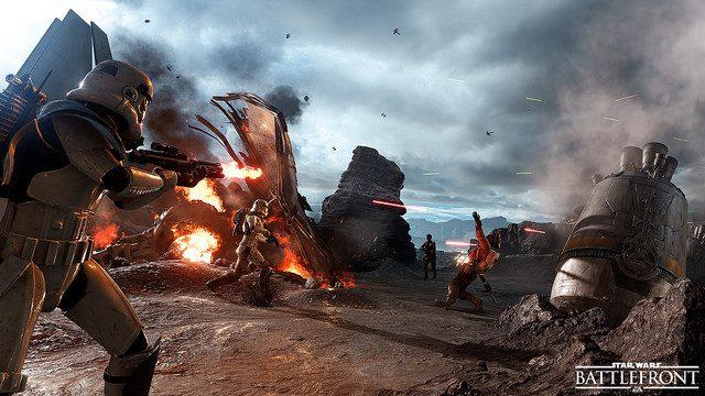 Beta de Star Wars Battlefront Começa em 8 de Outubro no PS4