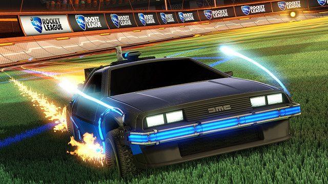 """Rocket League Vai """"De Volta Para o Futuro""""!"""