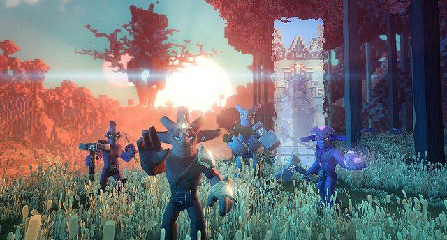 O Universo de mundo aberto de Boundless chega para o PS4