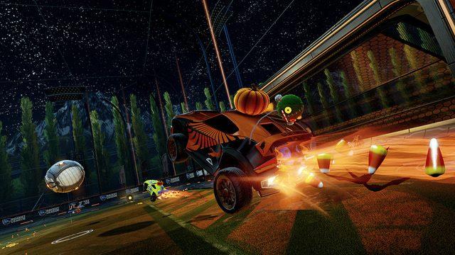 Surpresas Grátis de Halloween Chegando ao Rocket League