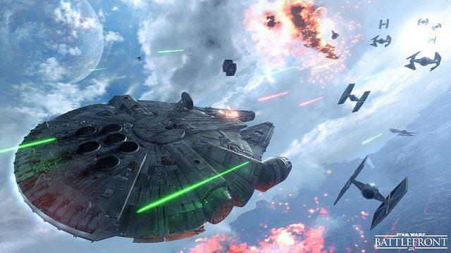 Star Wars Battlefront: Pilotando Slave I e a Millennium Falcon