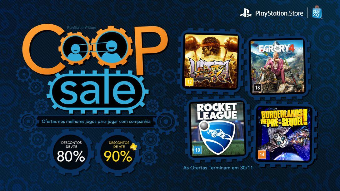 Co-Op Sale: Até 80% de Desconto em Borderlands, Rocket League e Mais