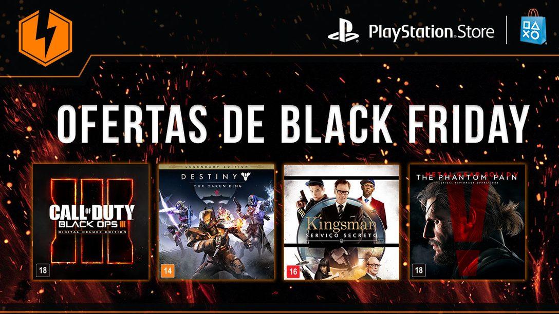 Promoção Flash: Ofertas de Black Friday em Jogos AAA, Filmes Blockbuster e Mais