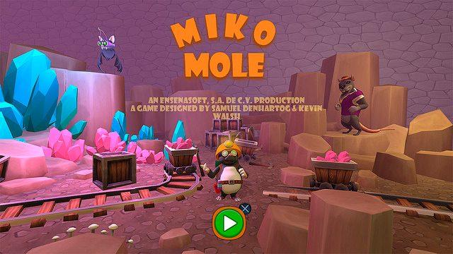 Lançado hoje para o PS4, Miko Mole testará as suas habilidades